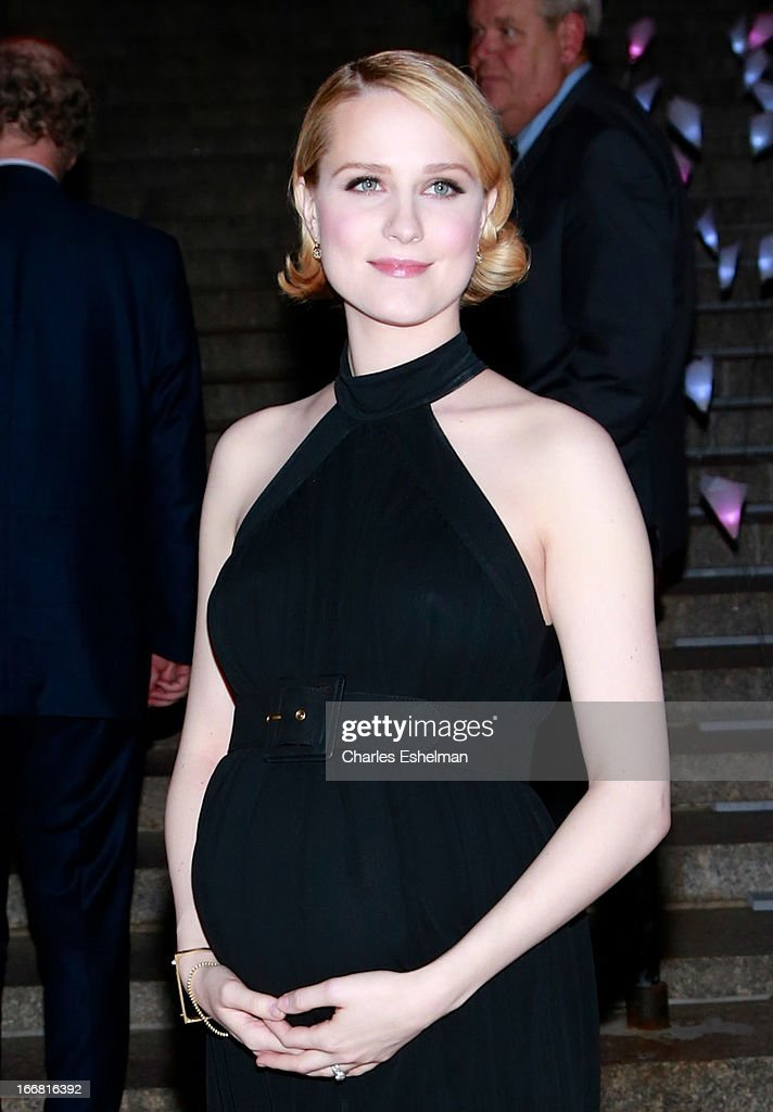Actress Evan Rachel Wood attends the Vanity Fair Party during the 2013 Tribeca Film Festival at the State Supreme Courthouse on April 16, 2013 in New York City.