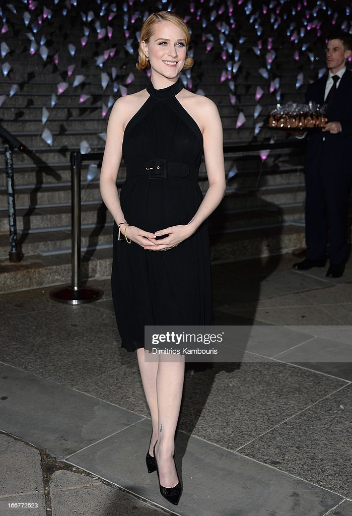 Actress Evan Rachel Wood attends Vanity Fair Party for the 2013 Tribeca Film Festival on April 16, 2013 in New York City.