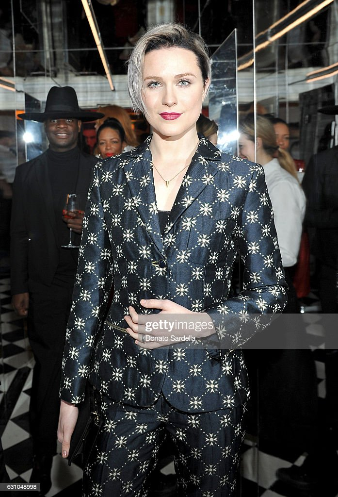 Actress Evan Rachel Wood attends W Magazine Celebrates the Best Performances Portfolio and the Golden Globes with Audi and Moet & Chandon at Chateau Marmont on January 5, 2017 in Los Angeles, California.
