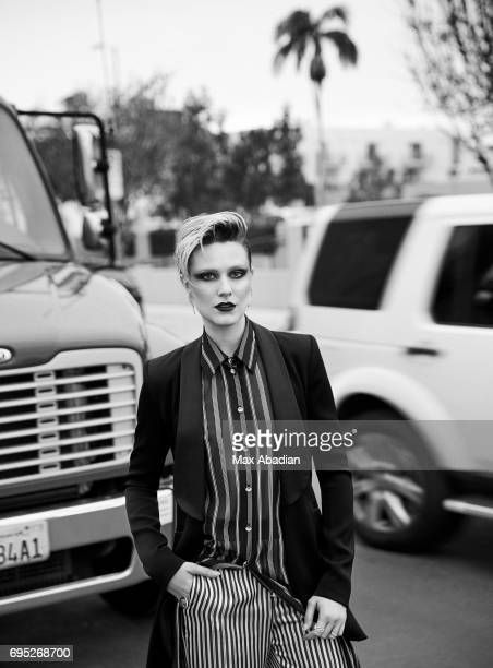 Actress Evan Rachel Wood is photographed for Elle Canada on March 17 2017 in Los Angeles California ON DOMESTIC EMBARGO UNTIL AUGUST 1 2017 ON...