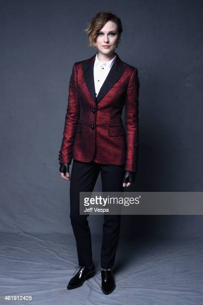 Actress Evan Rachel Wood poses for a Wonderwall portrait at The Art of Elysium's 7th Annual HEAVEN Gala presented by MercedesBenz at Skirball...