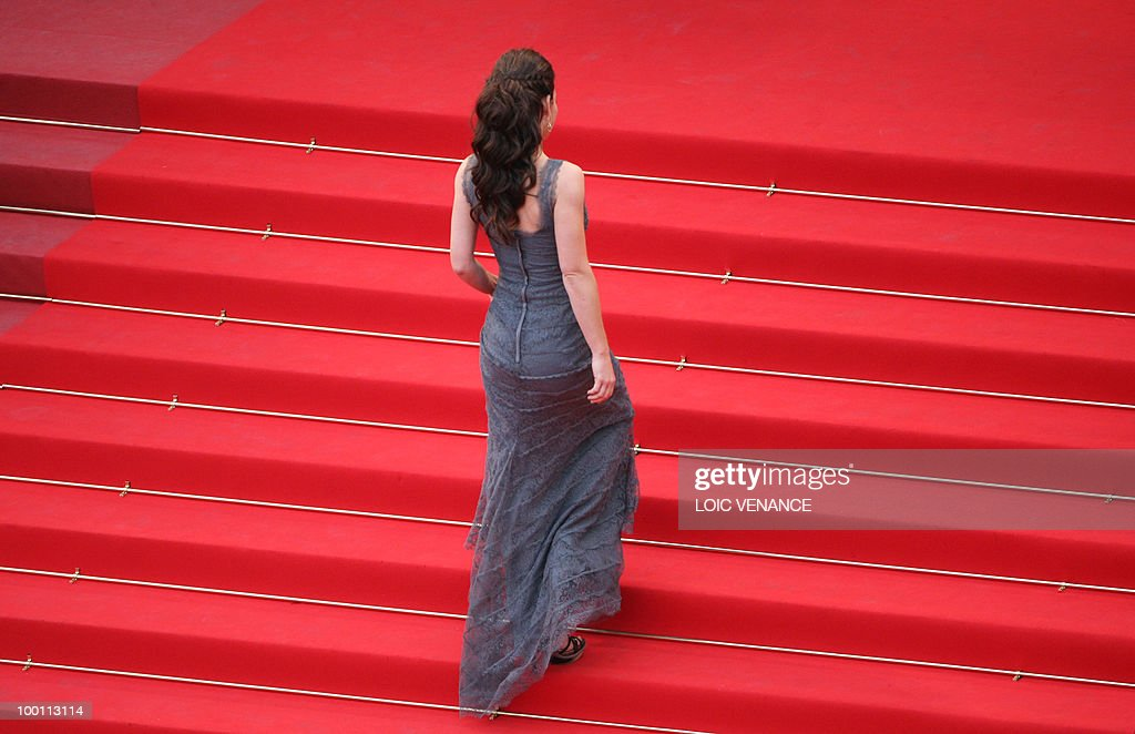 US actress Evangeline Lilly arrives for the screening of 'La Princesse de Montpensier' presented in competition at the 63rd Cannes Film Festival on May 16, 2010 in Cannes.