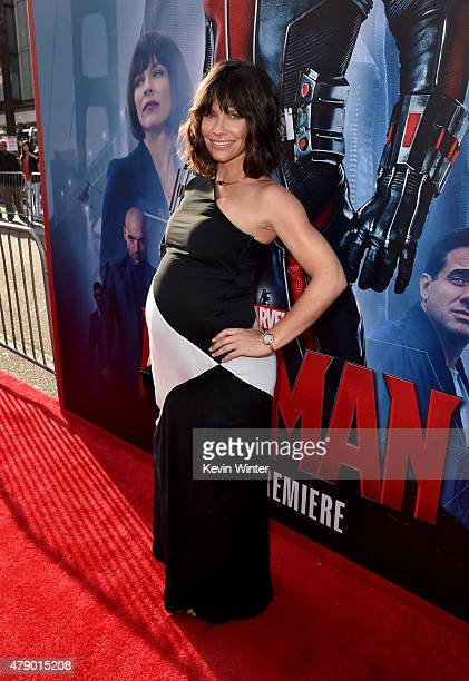 Actress Evangeline Lilly attends the premiere of Marvel's 'AntMan' at the Dolby Theatre on June 29 2015 in Hollywood California