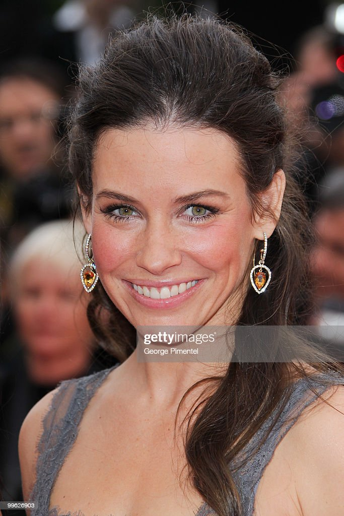 Actress Evangeline Lilly attends the 'The Princess of Montpensier' Premiere held at the Palais des Festivals during the 63rd Annual International...