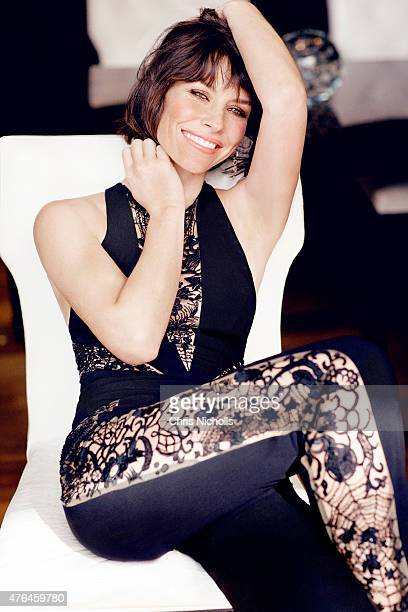 Actress Evangeline Lilly is photographed for Fashion Magazine on September 20 2014 in New York City