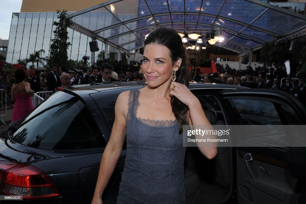 Actress Evangeline Lily attends 'The Princess Of Montpensier' Premiere at the Palais des Festivals during the 63rd Annual Cannes Film Festival on May 16, 2010 in Cannes, France.
