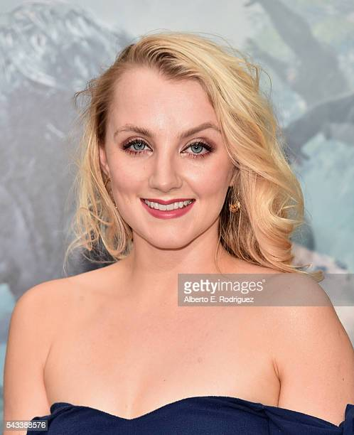 Actress Evanna Lynch attends the premiere of Warner Bros Pictures' 'The Legend of Tarzan' at Dolby Theatre on June 27 2016 in Hollywood California