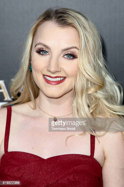 Actress Evanna Lynch attends the Universal Studios Hollywood Hosts The Opening Of 'The Wizarding World Of Harry Potter' at Universal Studios...
