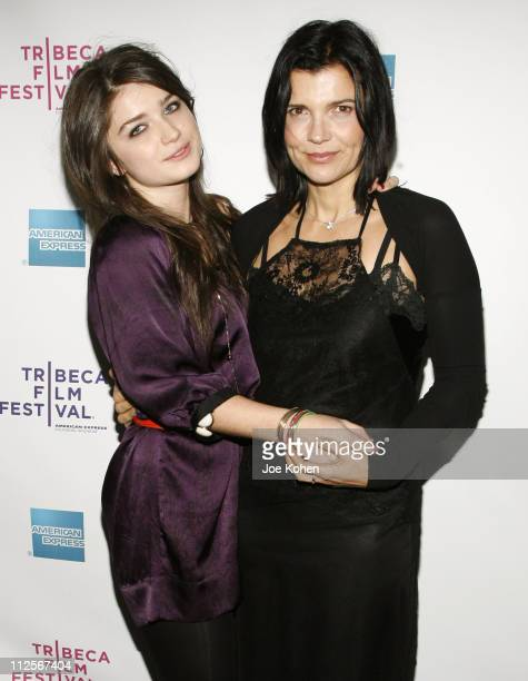 Actress Eve Hewson and Ali Hewson attend the premiere of 'The 27 Club' during the 7th Annual Tribeca Film Festival on April 26 2008 in New York City