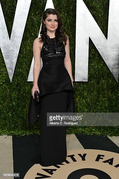 Actress Eve Hewson arrives at the 2013 Vanity Fair Oscar Party hosted by Graydon Carter at Sunset Tower on February 24 2013 in West Hollywood...