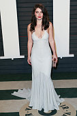 Actress Eve Hewson arrives at the 2016 Vanity Fair Oscar Party Hosted by Graydon Carter at the Wallis Annenberg Center for the Performing Arts on...