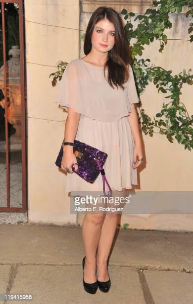 Actress Eve Hewson attends MIU MIU presents Lucrecia Martel's 'Muta' on July 19 2011 in Beverly Hills California