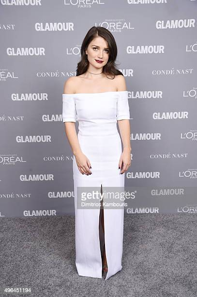 Actress Eve Hewson attends the 2015 Glamour Women Of The Year Awards at Carnegie Hall on November 9 2015 in New York City