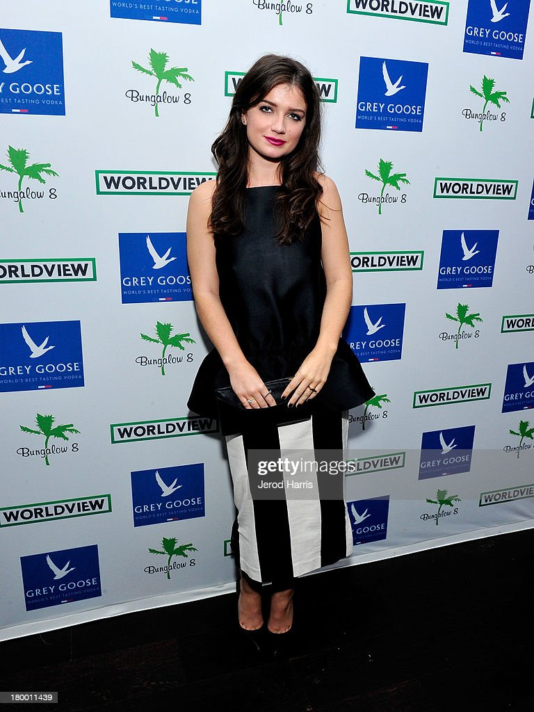 Actress <a gi-track='captionPersonalityLinkClicked' href=/galleries/search?phrase=Eve+Hewson&family=editorial&specificpeople=5294973 ng-click='$event.stopPropagation()'>Eve Hewson</a> attends the Bungalow 8 and Worldview party during the 2013 Toronto International Film Festival on September 7, 2013 in Toronto, Canada.