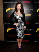 Actress Eve Hewson attends the Weinstein Company The Cinema Society Tumi screening of 'This Must Be the Place' at the Tribeca Grand Screening Room on...