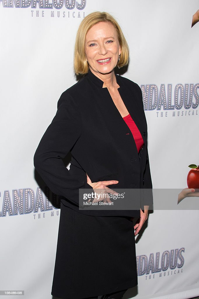 Actress Eve Plumb attends the 'Scandalous' Broadway Opening Night' at Neil Simon Theatre on November 15, 2012 in New York City.