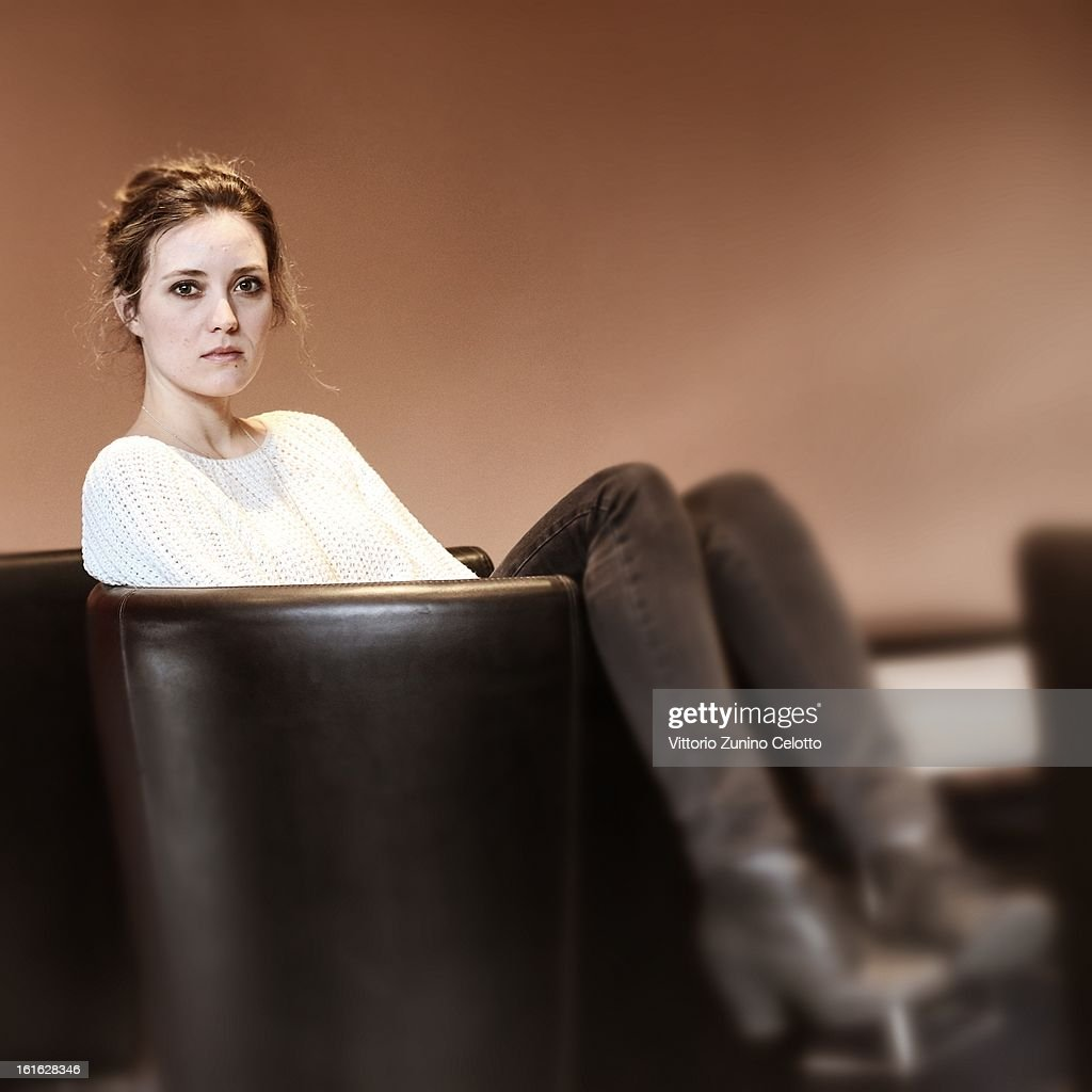 Actress Evelyne Brochu attends the 'Inch'Allah' Portrait Session during the 63rd Berlinale International Film Festival at the Berlinale Palast on February 13, 2013 in Berlin, Germany.