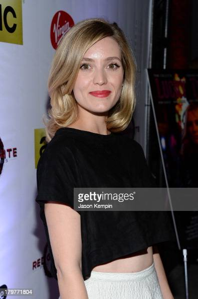 Actress Evelyne Brochu attends the 'Lucky Them' World Premiere After Party AMC Storys Toronto International Film Festival on September 6 2013 in...