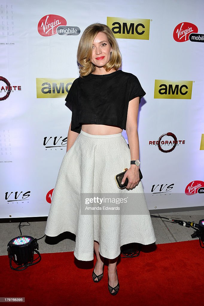 Actress Evelyne Brochu attends the Virgin Mobile Arts Cinema Centre's 'Lucky Them' After Party during the 2013 Toronto International Film Festival at...