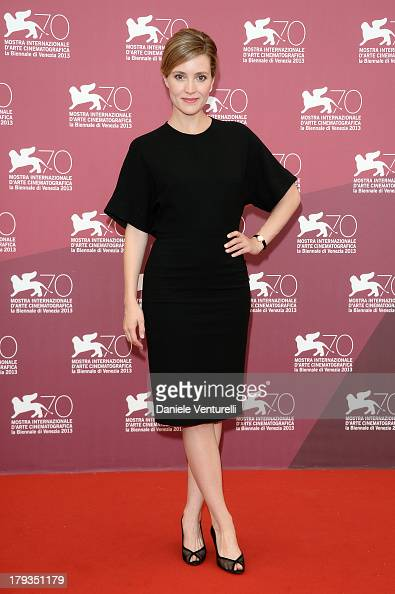 Actress Evelyne Brochu attends 'Tom A La Ferme' Photocall during the 70th Venice International Film Festival at Palazzo del Casino on September 2...