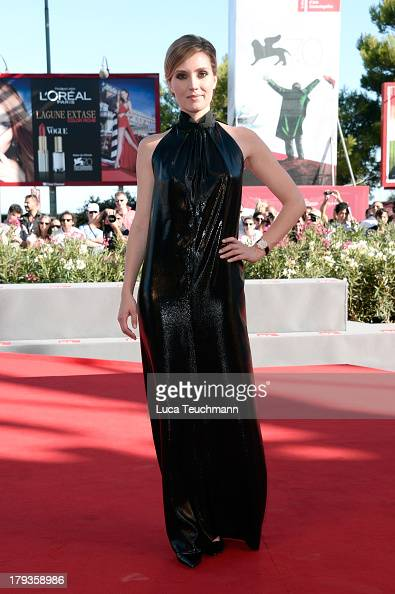 Actress Evelyne Brochu attends 'Tom and the Farm' Photocall during the 70th Venice International Film Festival at Excelsior Hotel on September 2 2013...