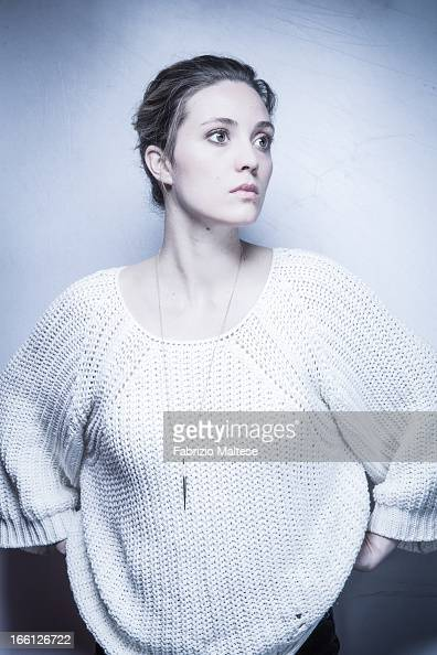 Actress Evelyne Brochu is photographed for Self Assignment on February 10 2013 in Berlin Germany