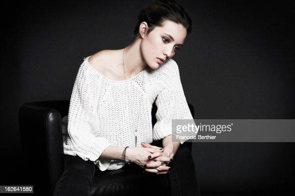 Actress Evelyne Brochu is photographed for Self Assignment on February 8 2013 in Berlin Germany