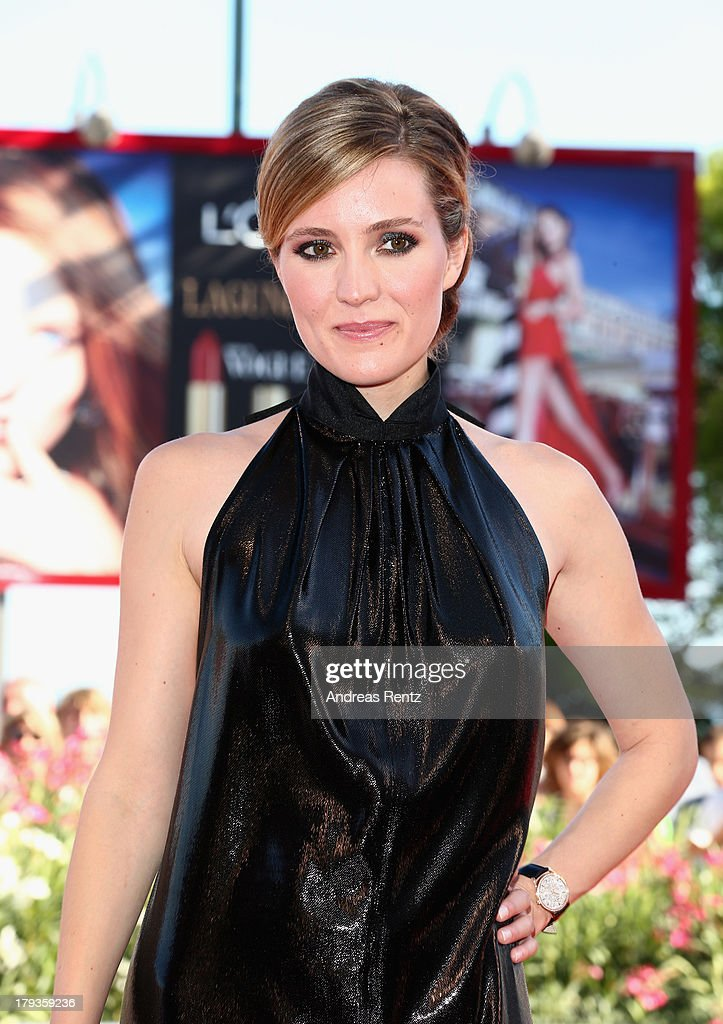 Actress Evelyne Brochu wears a Jaeger-LeCoultre watch at the 'Tom At The Farm' Premiere during the 70th Venice Film Festival at the Palazzo del Cinema on September 2, 2013 in Venice, Italy.