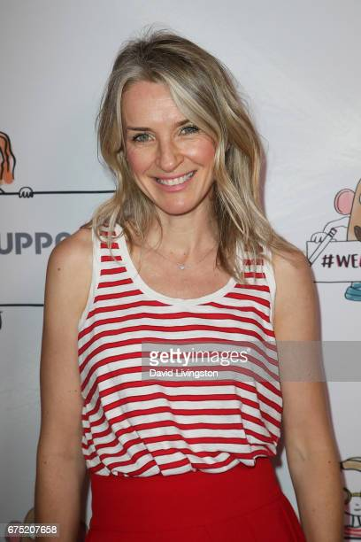 Actress Ever Carradine attends the WE ALL PLAY FUNdraiser hosted by the Zimmer Children's Museum at the Zimmer Children's Museum on April 30 2017 in...