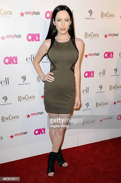 Actress Evis X Shaffer attends OK Magazine's So Sexy LA Event at LURE on May 21 2014 in Los Angeles California