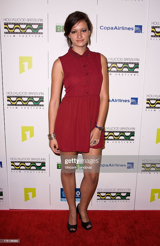 Actress Fabiana Meadows attends the 5th annual Hollywood Brazilian Film Festival at the Egyptian Theatre on July 31, 2013 in Hollywood, California.