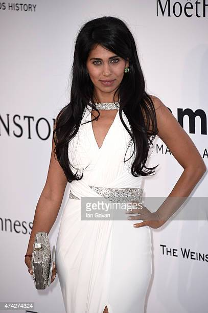 Actress Fagun Thakrar attends amfAR's 22nd Cinema Against AIDS Gala Presented By Bold Films And Harry Winston at Hotel du CapEdenRoc on May 21 2015...