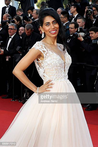 Actress Fagun Thakrar attends the 'Cafe Society' premiere and the Opening Night Gala during the 69th annual Cannes Film Festival at the Palais des...
