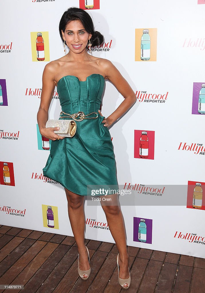 Actress Fagun Thakrar (bag by Fagun Collection) attends the Hollywood Reporter honors Jodi Foster for 'The Beaver' hosted by vitaminwater at Z Plage vitaminwater on May 18, 2011 in Cannes, France.