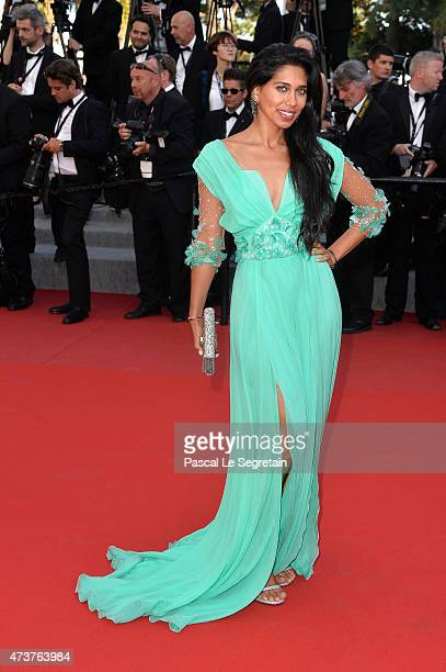 Actress Fagun Thakrar attends the Premiere of 'Rocco And His Brothers' during the 68th annual Cannes Film Festival on May 17 2015 in Cannes France