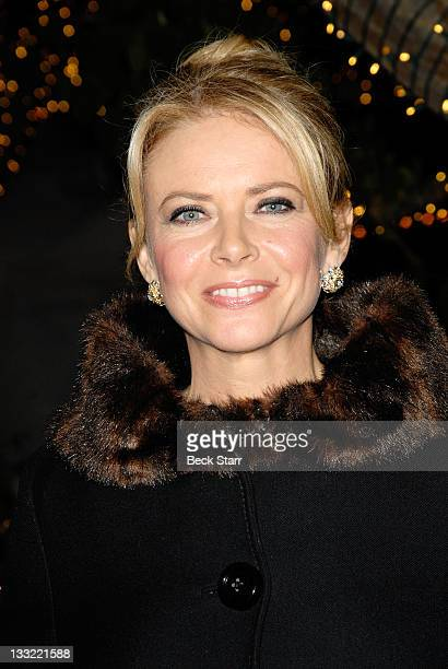 Actress Faith Ford attends Hallmark channel presents 'Debbie Macomber's Trading Christmas' private screening at Morel's French Steakhouse Bistro on...