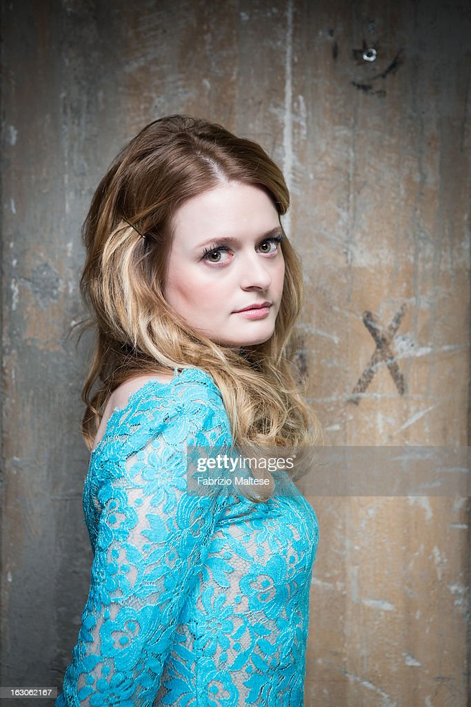 Actress Fallon Goodson is photographed for Self Assignment on March 9, 2013 in Berlin, Germany.