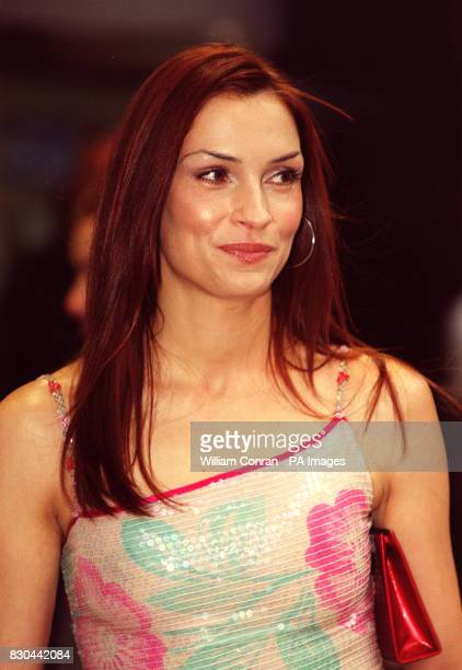 Actress Famke Janssen arrives for the premiere of XMen at The Odeon cinema in Leicester Square London