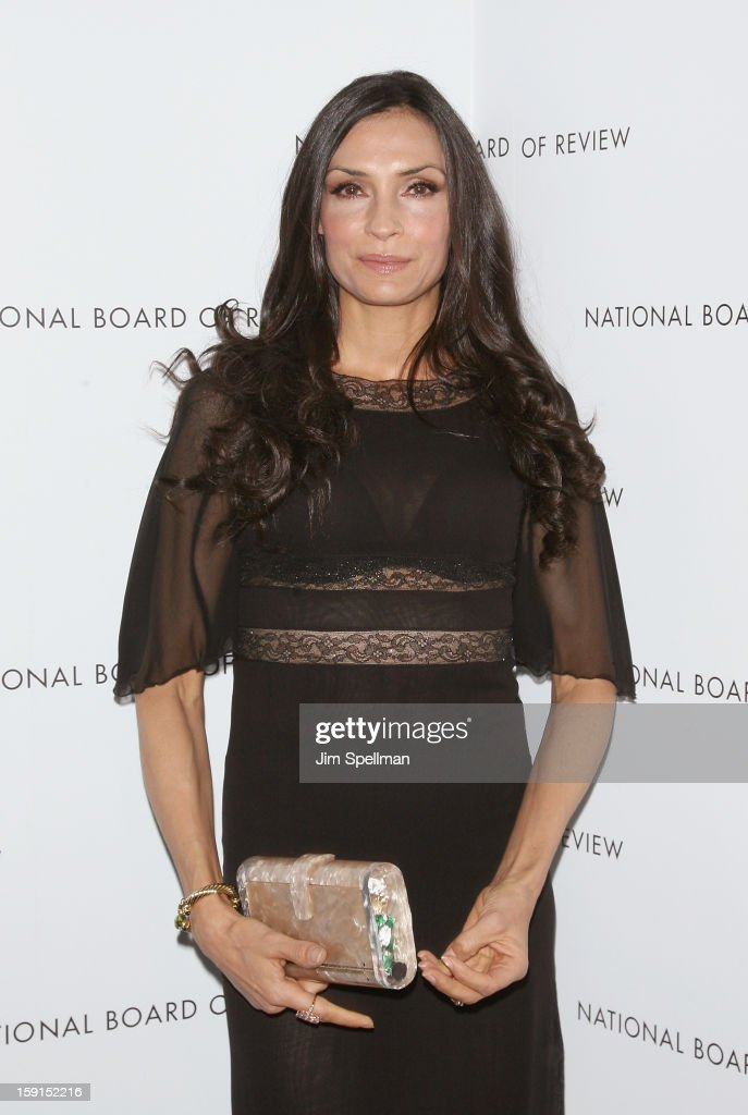 Actress Famke Janssen attends the 2013 National Board Of Review Awards Gala at Cipriani Wall Street on January 8, 2013 in New York City.