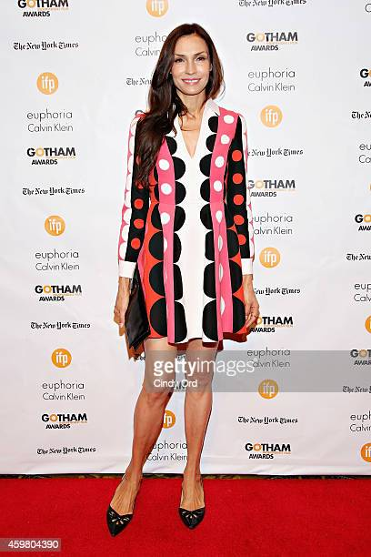 Actress Famke Janssen attends the 24th Annual Gotham Independent Film Awards at Cipriani Wall Street on December 1 2014 in New York City