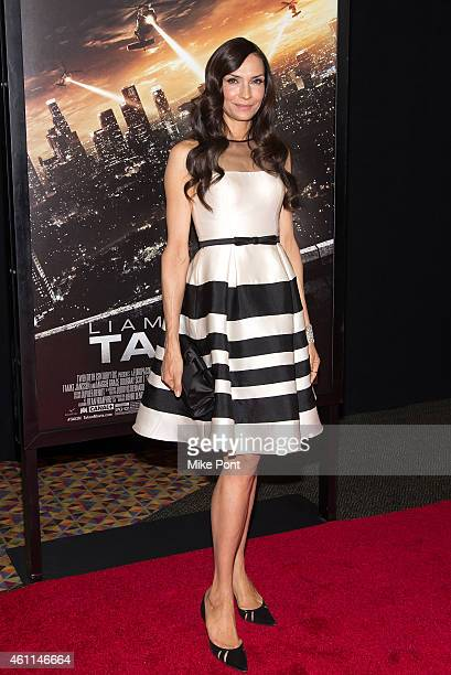 Actress Famke Janssen attends the 'Taken 3' Fan Event Screening at the AMC Empire 25 theater on January 7 2015 in New York City