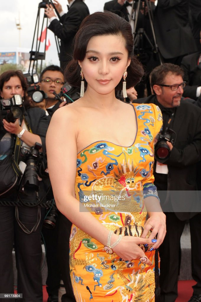 Actress Fan Bing Bin attends the 'Robin Hood' Premiere at the Palais des Festivals during the 63rd Annual Cannes Film Festival on May 12, 2010 in Cannes, France.