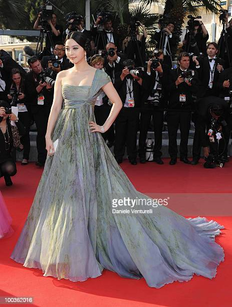 Actress Fan Bing Bing attend the Palme d'Or Closing Ceremony held at the Palais des Festivals during the 63rd Annual International Cannes Film...