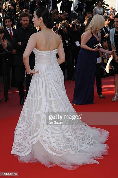 Actress Fan Bing Bing attends 'Biutiful' Premiere at the Palais des Festivals during the 63rd Annual Cannes Film Festival on May 17 2010 in Cannes...