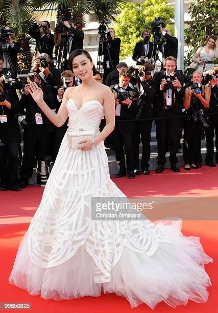 Actress Fan Bing Bing attends the 'Biutiful' Premiere at the Palais des Festivals during the 63rd Annual Cannes Film Festival on May 17 2010 in...