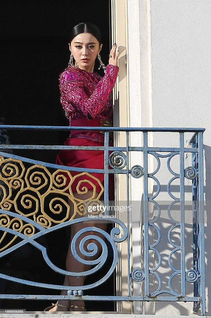 Actress Fan Bing Bing is seen at the 'Grand Hyatt Hotel Martinez Cannes' during the 66th Annual Cannes Film Festival on May 17, 2013 in Cannes, France.
