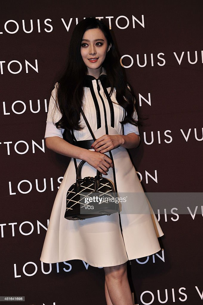 Actress Fan Bingbing attends Louis Vuitton flagship store opening ceremony at Chengdu IFS on July 3, 2014 in Chengdu, China.