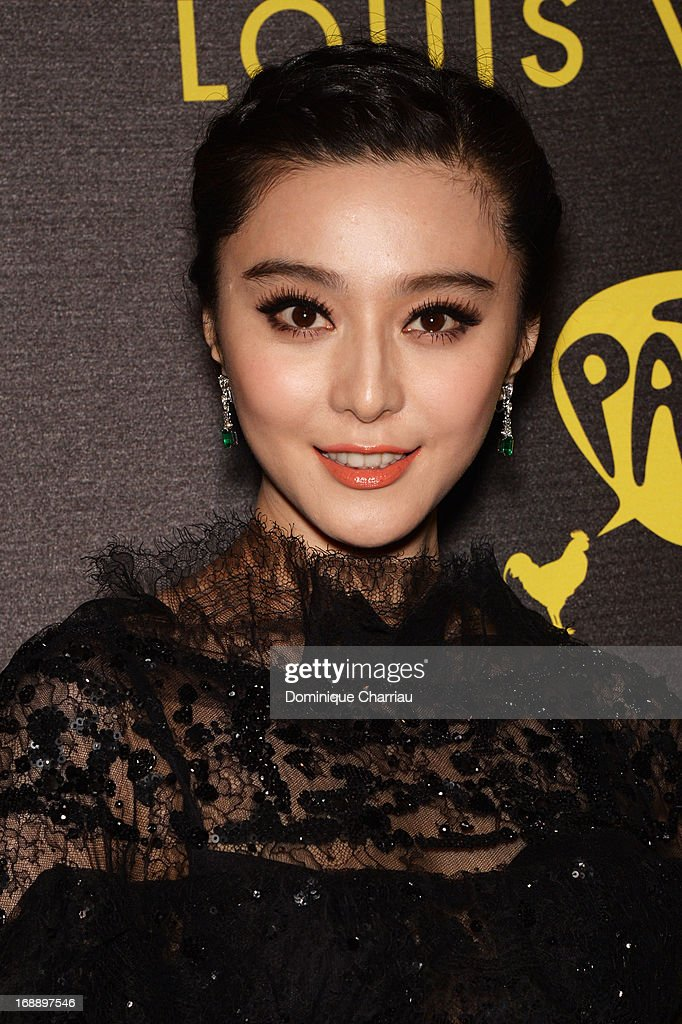 Actress Fan Bingbing attends The Bling Ring Party hosted by Louis Vuitton during The 66th Annual Cannes Film Festival at Club d'Albane/JW Marriott on May 16, 2013 in Cannes, France.