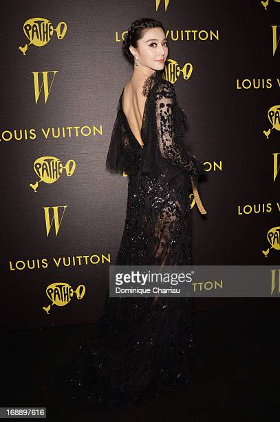 Actress Fan BingBing attends The Bling Ring Party hosted by Louis Vuitton during the 66th Annual Cannes Film Festival at Club d'Albane/JW Marriott on...