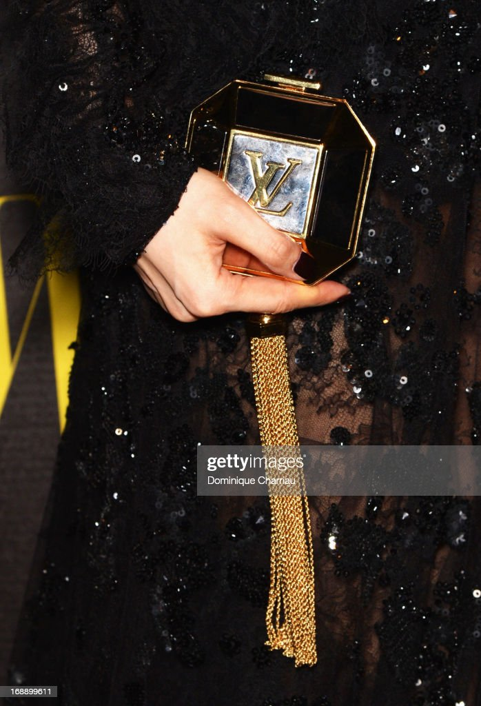 Actress Fan Bingbing (purse detail) attends The Bling Ring Party hosted by Louis Vuitton during The 66th Annual Cannes Film Festival at Club d'Albane/JW Marriott on May 16, 2013 in Cannes, France.